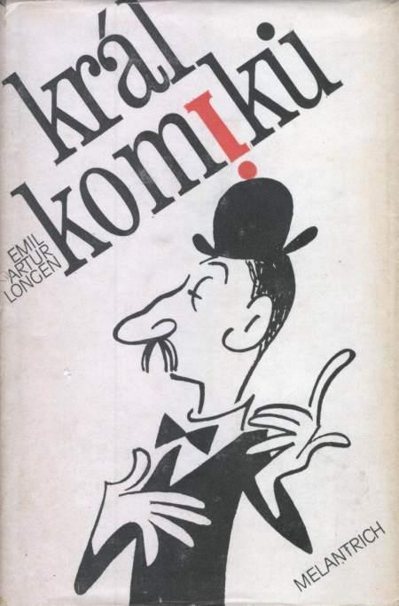 Obálka knihy Král komiků z roku 1979